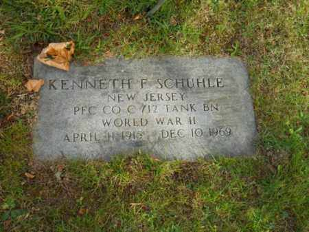 SCHUHLE, KENNETH F - Barnstable County, Massachusetts | KENNETH F SCHUHLE - Massachusetts Gravestone Photos
