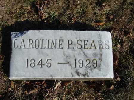 SEARS, CAROLINE PHILLIPS (CARRIE) - Barnstable County, Massachusetts | CAROLINE PHILLIPS (CARRIE) SEARS - Massachusetts Gravestone Photos