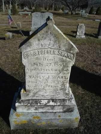 SEARS, NANCY JANE - Barnstable County, Massachusetts | NANCY JANE SEARS - Massachusetts Gravestone Photos