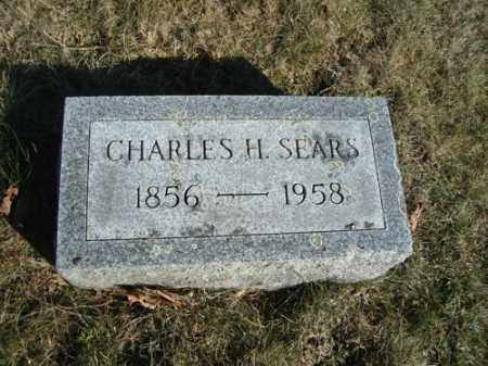 SEARS, CHARLES H - Barnstable County, Massachusetts | CHARLES H SEARS - Massachusetts Gravestone Photos