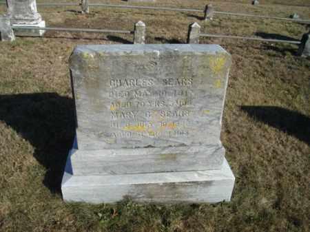 SEARS, CHARLES - Barnstable County, Massachusetts | CHARLES SEARS - Massachusetts Gravestone Photos