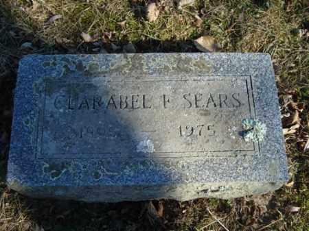SEARS, CLARABEL F - Barnstable County, Massachusetts | CLARABEL F SEARS - Massachusetts Gravestone Photos