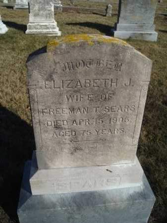 SNOW SEARS, ELIZABETH JENKINS (LIZZIE) - Barnstable County, Massachusetts | ELIZABETH JENKINS (LIZZIE) SNOW SEARS - Massachusetts Gravestone Photos