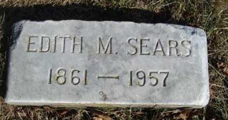 SEARS, EDITH M - Barnstable County, Massachusetts   EDITH M SEARS - Massachusetts Gravestone Photos