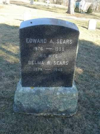 CHASE SEARS, BELMA RICE - Barnstable County, Massachusetts | BELMA RICE CHASE SEARS - Massachusetts Gravestone Photos