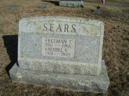 SEARS, MABEL F - Barnstable County, Massachusetts | MABEL F SEARS - Massachusetts Gravestone Photos