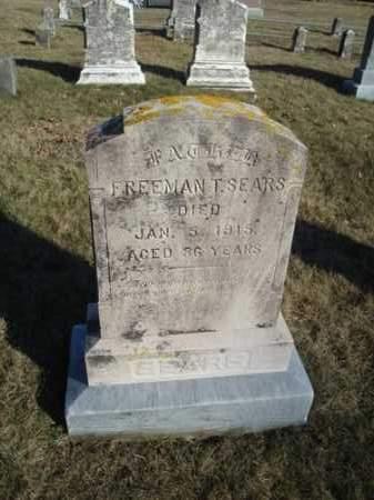 SEARS, FREEMAN THACHER - Barnstable County, Massachusetts   FREEMAN THACHER SEARS - Massachusetts Gravestone Photos