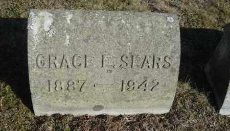 SEARS, GRACE EDITH - Barnstable County, Massachusetts | GRACE EDITH SEARS - Massachusetts Gravestone Photos