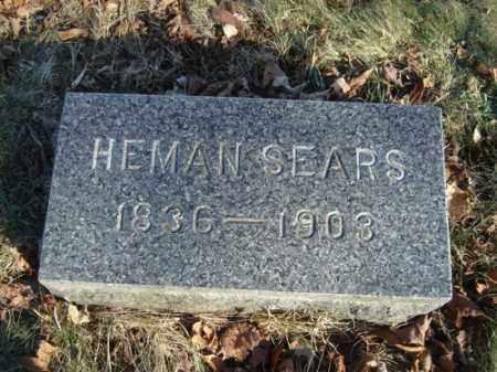 SEARS, HEMAN - Barnstable County, Massachusetts | HEMAN SEARS - Massachusetts Gravestone Photos