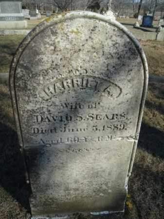 MATHEWS SEARS, HARRIET ALLEN - Barnstable County, Massachusetts | HARRIET ALLEN MATHEWS SEARS - Massachusetts Gravestone Photos
