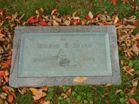 SEARS, HELENE F - Barnstable County, Massachusetts | HELENE F SEARS - Massachusetts Gravestone Photos