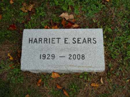 SEARS, HARRIET E - Barnstable County, Massachusetts | HARRIET E SEARS - Massachusetts Gravestone Photos
