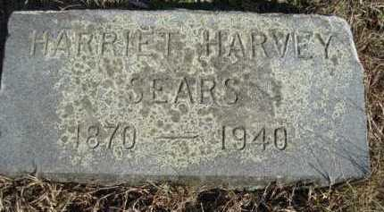HARVEY SEARS, HARRIET - Barnstable County, Massachusetts | HARRIET HARVEY SEARS - Massachusetts Gravestone Photos