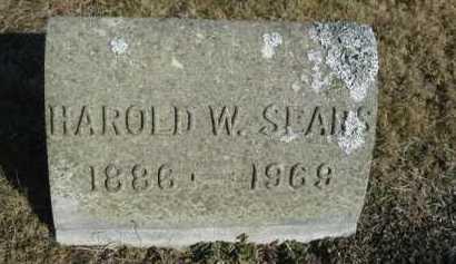 SEARS, HAROLD W - Barnstable County, Massachusetts   HAROLD W SEARS - Massachusetts Gravestone Photos