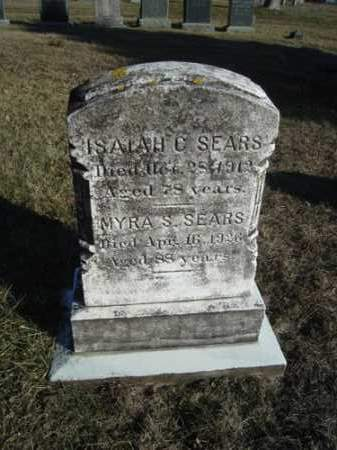SEARS, ISAIAH CROWELL - Barnstable County, Massachusetts | ISAIAH CROWELL SEARS - Massachusetts Gravestone Photos