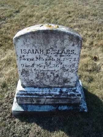 SEARS, ISAIAH C - Barnstable County, Massachusetts | ISAIAH C SEARS - Massachusetts Gravestone Photos