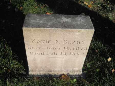 SEARS, KATIE F - Barnstable County, Massachusetts | KATIE F SEARS - Massachusetts Gravestone Photos
