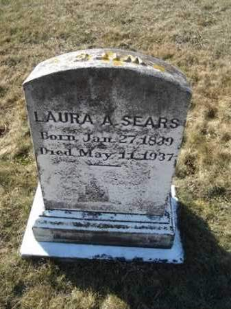 CROSBY SEARS, LAURA A - Barnstable County, Massachusetts | LAURA A CROSBY SEARS - Massachusetts Gravestone Photos