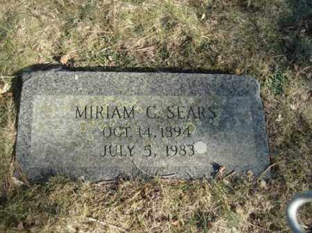SEARS, MIRIAM - Barnstable County, Massachusetts | MIRIAM SEARS - Massachusetts Gravestone Photos