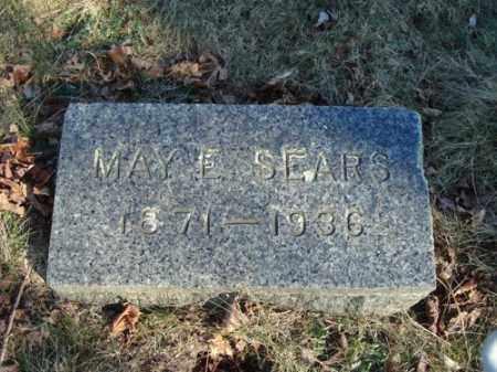 SEARS, MAY E - Barnstable County, Massachusetts | MAY E SEARS - Massachusetts Gravestone Photos