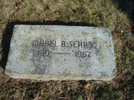 SEARS SEARS, MABEL BETSIE - Barnstable County, Massachusetts | MABEL BETSIE SEARS SEARS - Massachusetts Gravestone Photos