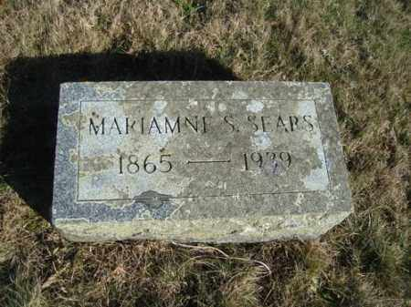 "SEARS, MARIANNE S ""ANNA"" - Barnstable County, Massachusetts 