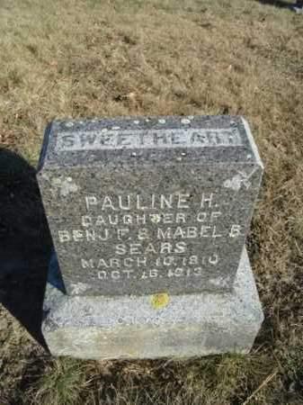 SEARS, PAULINE H - Barnstable County, Massachusetts   PAULINE H SEARS - Massachusetts Gravestone Photos