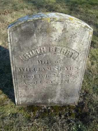 SEARS, RUTH - Barnstable County, Massachusetts | RUTH SEARS - Massachusetts Gravestone Photos