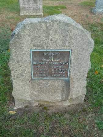 SEARS, MEHITABLE - Barnstable County, Massachusetts | MEHITABLE SEARS - Massachusetts Gravestone Photos