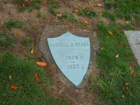 SEARS, RUSSELL ADAMS - Barnstable County, Massachusetts | RUSSELL ADAMS SEARS - Massachusetts Gravestone Photos
