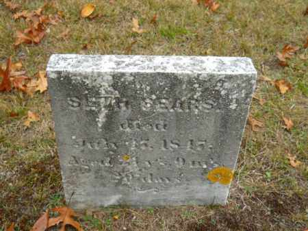 SEARS, SETH - Barnstable County, Massachusetts | SETH SEARS - Massachusetts Gravestone Photos