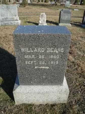 SEARS, WILLARD - Barnstable County, Massachusetts   WILLARD SEARS - Massachusetts Gravestone Photos