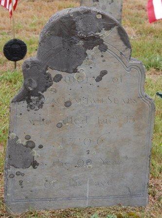 SEARS, ZACHARIAH - Barnstable County, Massachusetts   ZACHARIAH SEARS - Massachusetts Gravestone Photos
