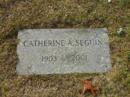 SEGUIN, CATHERINE A - Barnstable County, Massachusetts | CATHERINE A SEGUIN - Massachusetts Gravestone Photos