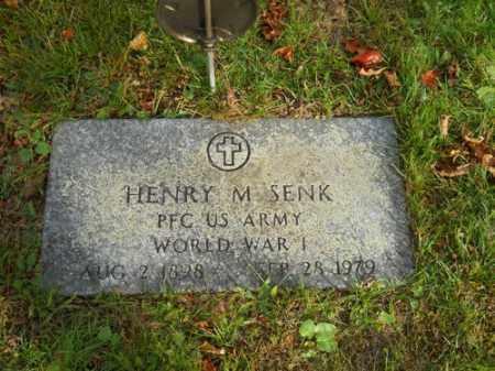 SENK, HENRY M - Barnstable County, Massachusetts | HENRY M SENK - Massachusetts Gravestone Photos