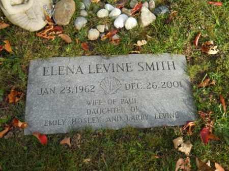 LEVINE, ELENA - Barnstable County, Massachusetts | ELENA LEVINE - Massachusetts Gravestone Photos