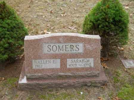 SOMERS, SARAH M - Barnstable County, Massachusetts   SARAH M SOMERS - Massachusetts Gravestone Photos