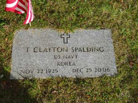SPALDING, T CLAYTON - Barnstable County, Massachusetts | T CLAYTON SPALDING - Massachusetts Gravestone Photos