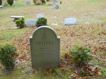 GRAVES SPOTTS, CHARLOTTE - Barnstable County, Massachusetts | CHARLOTTE GRAVES SPOTTS - Massachusetts Gravestone Photos