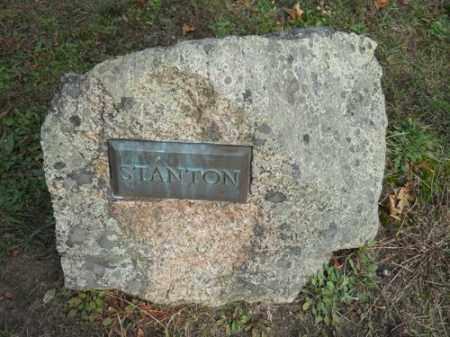 STANTON, FAMILY - Barnstable County, Massachusetts | FAMILY STANTON - Massachusetts Gravestone Photos