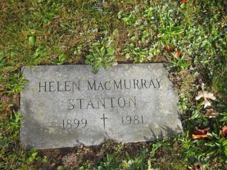 STANTON, HELEN - Barnstable County, Massachusetts | HELEN STANTON - Massachusetts Gravestone Photos