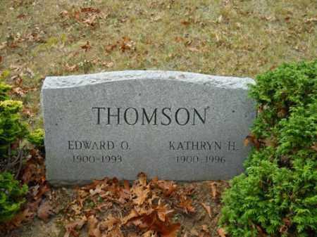 THOMSON, EDWARD O - Barnstable County, Massachusetts | EDWARD O THOMSON - Massachusetts Gravestone Photos