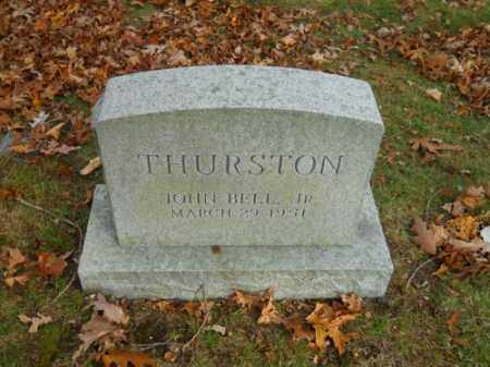 THURSTON, JOHN BELL JR - Barnstable County, Massachusetts | JOHN BELL JR THURSTON - Massachusetts Gravestone Photos