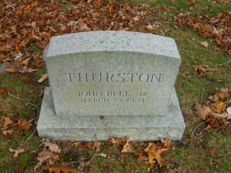 THURSTON, JOHN BELL JR - Barnstable County, Massachusetts | JOHN BELL JR THURSTON - Massachusetts Gravestone Photos