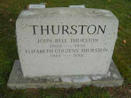 THURSTON, JOHN BELL - Barnstable County, Massachusetts   JOHN BELL THURSTON - Massachusetts Gravestone Photos