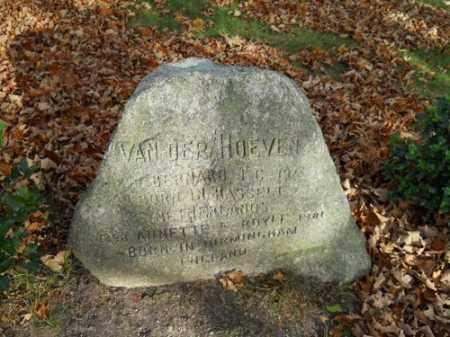 ROYLE VAN DER HOEVEN, ANNETTE E - Barnstable County, Massachusetts | ANNETTE E ROYLE VAN DER HOEVEN - Massachusetts Gravestone Photos
