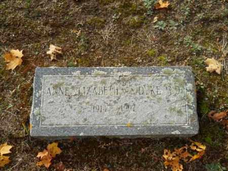 VAN DYKE, ANNE ELIZABETH - Barnstable County, Massachusetts | ANNE ELIZABETH VAN DYKE - Massachusetts Gravestone Photos