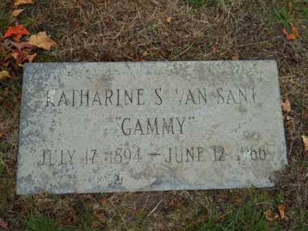 VAN SANT, KATHARINE S - Barnstable County, Massachusetts | KATHARINE S VAN SANT - Massachusetts Gravestone Photos