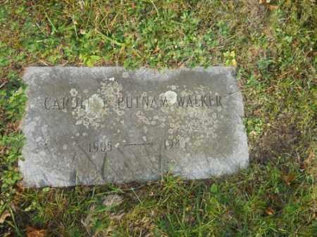 WALKER, CAROL - Barnstable County, Massachusetts   CAROL WALKER - Massachusetts Gravestone Photos