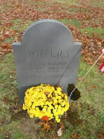 WATERS (WWII), JOSEPH FRAZIER - Barnstable County, Massachusetts | JOSEPH FRAZIER WATERS (WWII) - Massachusetts Gravestone Photos